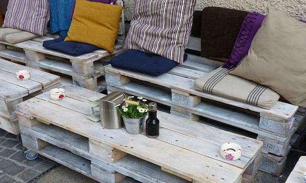 Meble ogrodowe z palet Częstochowa